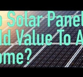 Do solar panels add value to a home